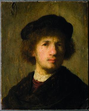 Rembrandt van Rijn: Selbstporträt (1630)